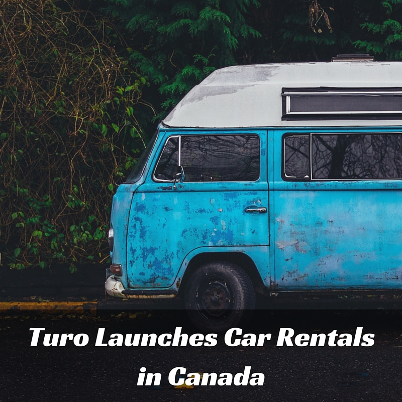 Turo Car Rentals To Launch In Canada