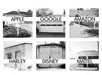 Image result for what billion dollar companies started in a garage