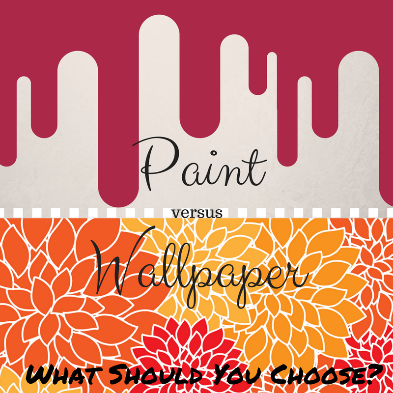 Imagine your walls as blank canvases. You can transform them by either a fresh coat of paint or a unique wallpaper. But what one should you use?