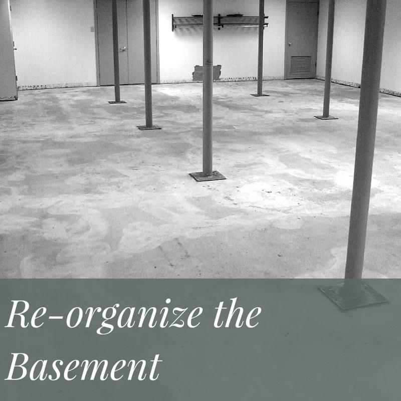 Organize The Basement